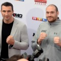 Wladimir Klitschko and Tyson Fury press conference 2016