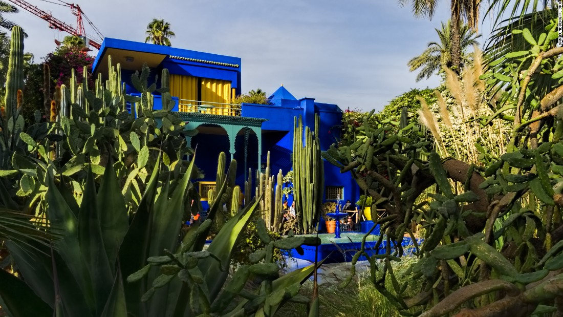 Yves saint laurents legacy in bloom with new museum at jardin majorelle cnn style