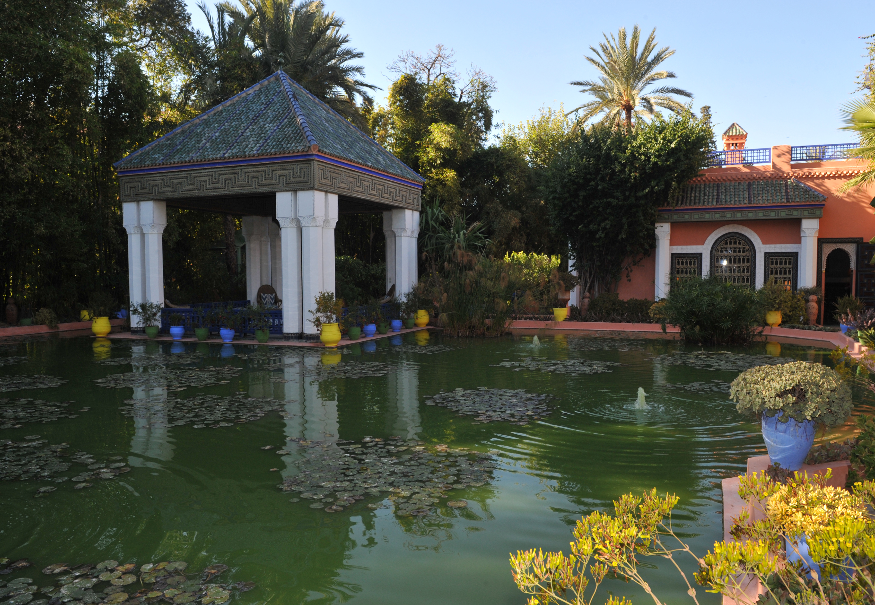 yves saint laurents legacy in bloom with new museum at jardin majorelle cnn style - Majorelle Garden