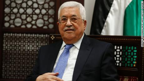 Abbas: Palestinians will work with Trump for two-state solution