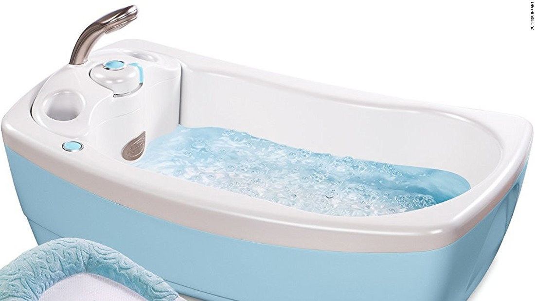 summer infant bathtub slings recalled due to drowning risk - cnn