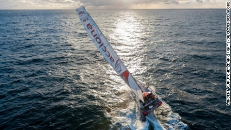 British sailor Hannah Stodel brings new meaning to Vendee