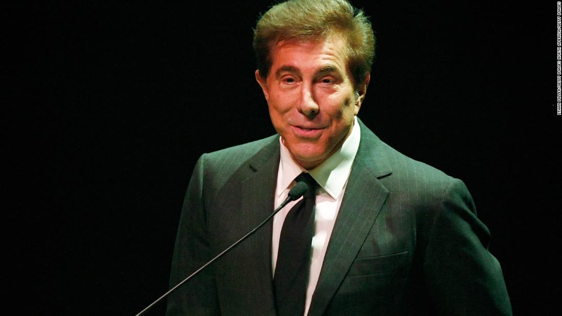 The Nevada gaming board ingin melarang mogul kasino Steve Wynn