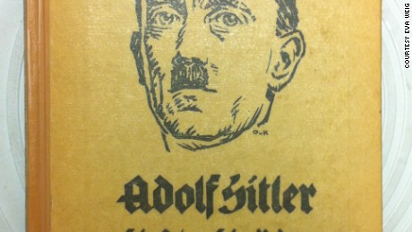 "Front cover of the 1923 book, ""Adolf Hitler: His Life and His Speeches."""