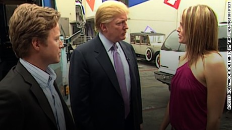 NYT: Trump questions authenticity of 'Access Hollywood' tape
