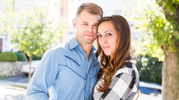 Nicole and Christian McDonald at their home in the Bronx.
