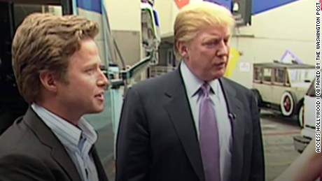 trump billy bush hot mic video