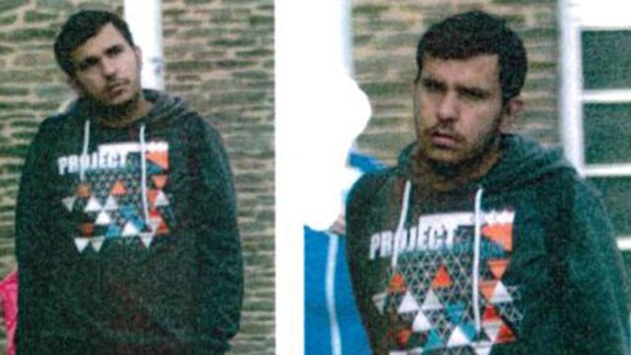Saxony Police released images of a man identified as Syrian-born Jaber Albakr in connection with the operation in Chemnitz.