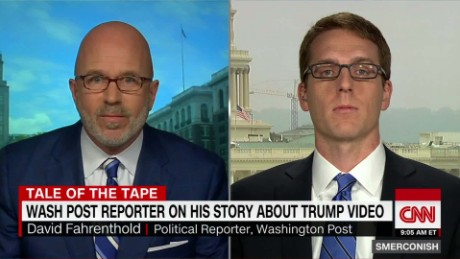 Fahrenthold on breaking Trump video story