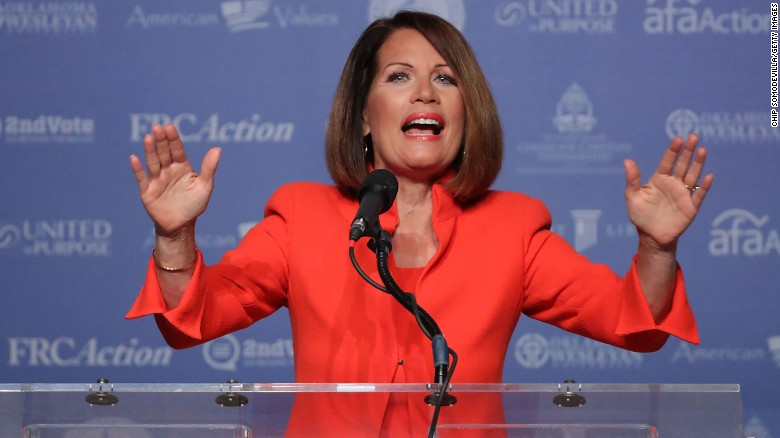 Bachmann: Trump vs. GOP is 'not a civil war'