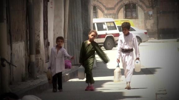 Children are among the worst affected in Yemen's conflict, as schools are bombarded and malnutrition is rife.