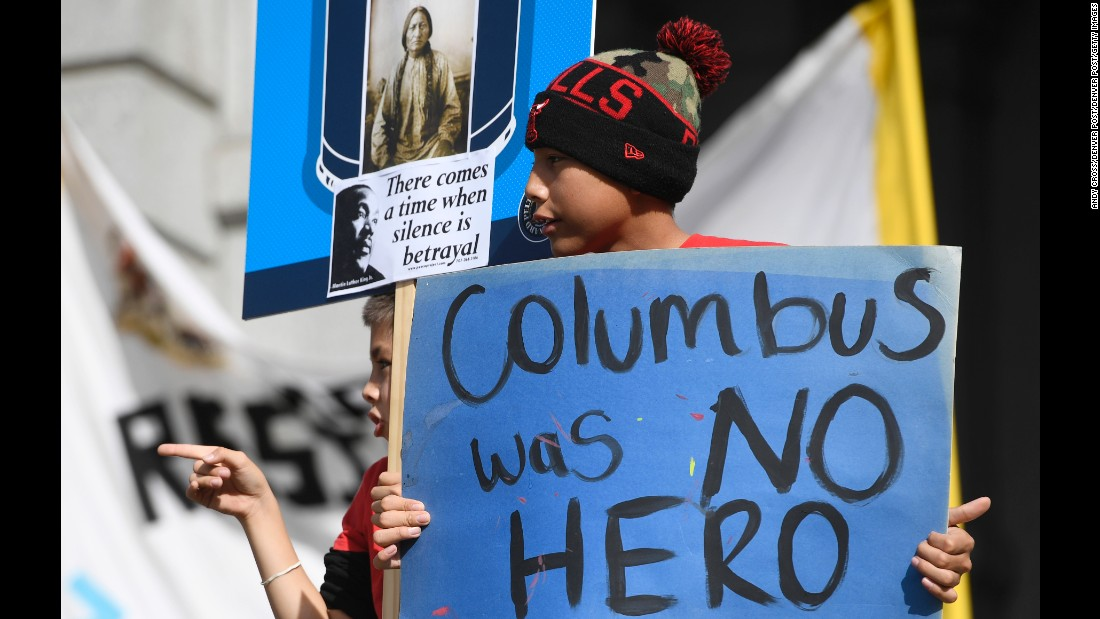 On Columbus Day support grows for Indigenous Peoples Day CNN