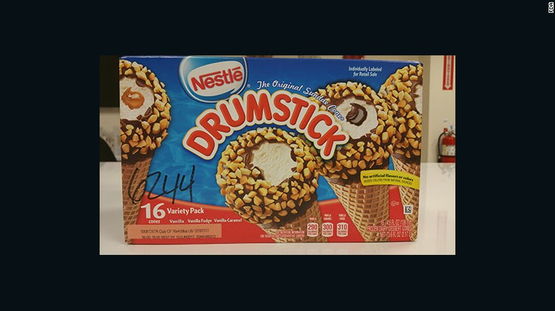 Nestle Has Announced A Voluntary Recall Of Its Drumstick Ice Cream Cone Products