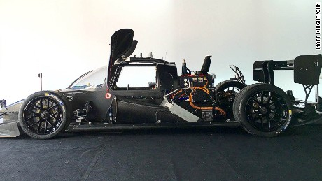 Robot racer: World's first autonomous electric race car can go over 200mph