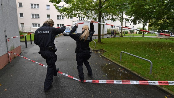 Police found around 1.5kg of explosive materials in a Chemnitz apartment.