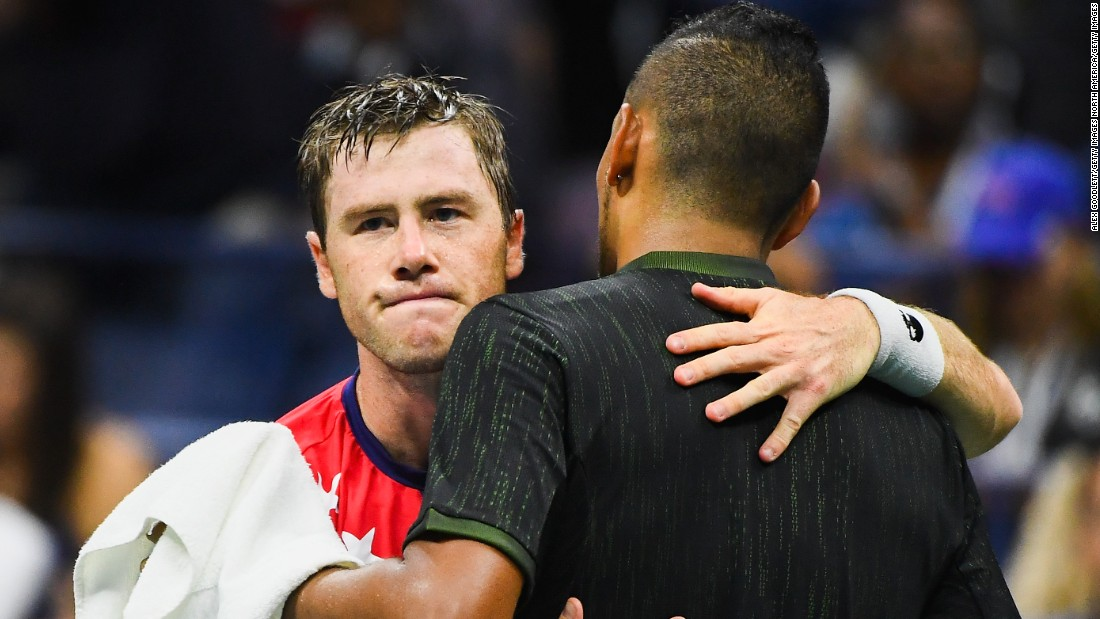 It was indeed a great week for Kyrgios -- after controversy continued to follow him this year. Seven-time grand slam winner John McEnroe criticized him after Kyrgios retired hurt at the US Open.