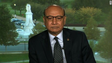 Khizr Khan: 'Saddened all over again' after Trump's debate comments