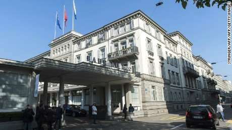 FIFA has stopped using Zurich's Baur Au Lac hotel for visiting coucil members.