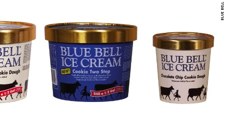 Blue Bell Blue Bunny Recall Cookie Dough Ice Cream Cnn