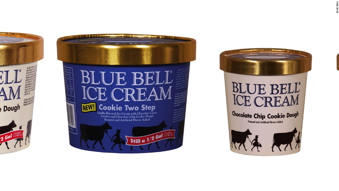Blue Bell Bunny Recall Cookie Dough Ice Cream