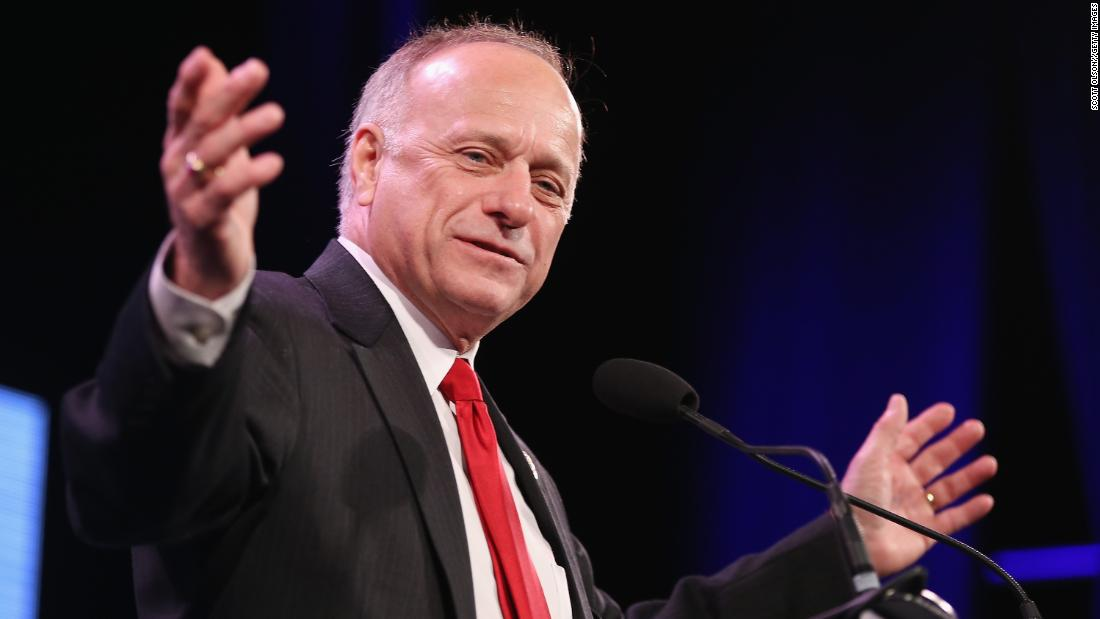 Steve King's explanation for his racially charged comments is epically bad