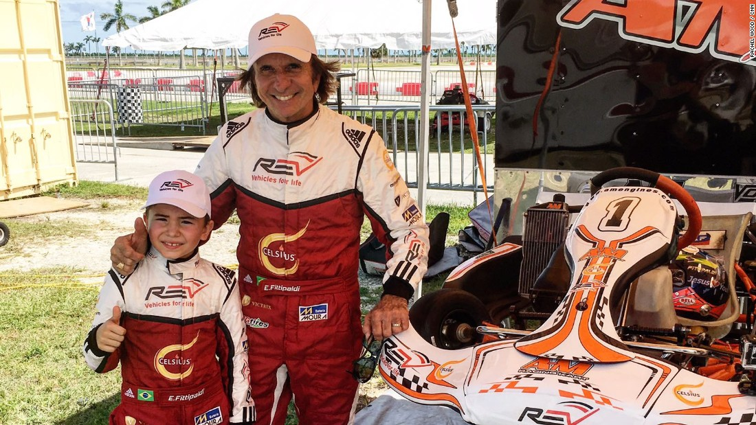 "Could we see another Emerson Fittipaldi in Formula One in the future? The double F1 world champion is helping his son ""Little Emmo"" start his own career in motorsport."