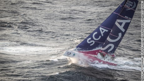 The Volvo Ocean Race began as the Whitbread Round-the-World Race in 1973.