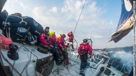 All-female crews can have 11 sailors compared to seven on all-male boats.