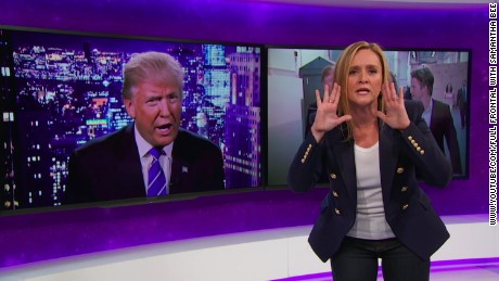 'Full Frontal with Samantha Bee.'