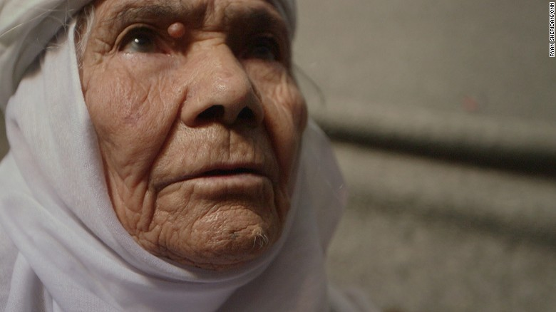 Eida Karmi is a 115-year-old Syrian refugee.
