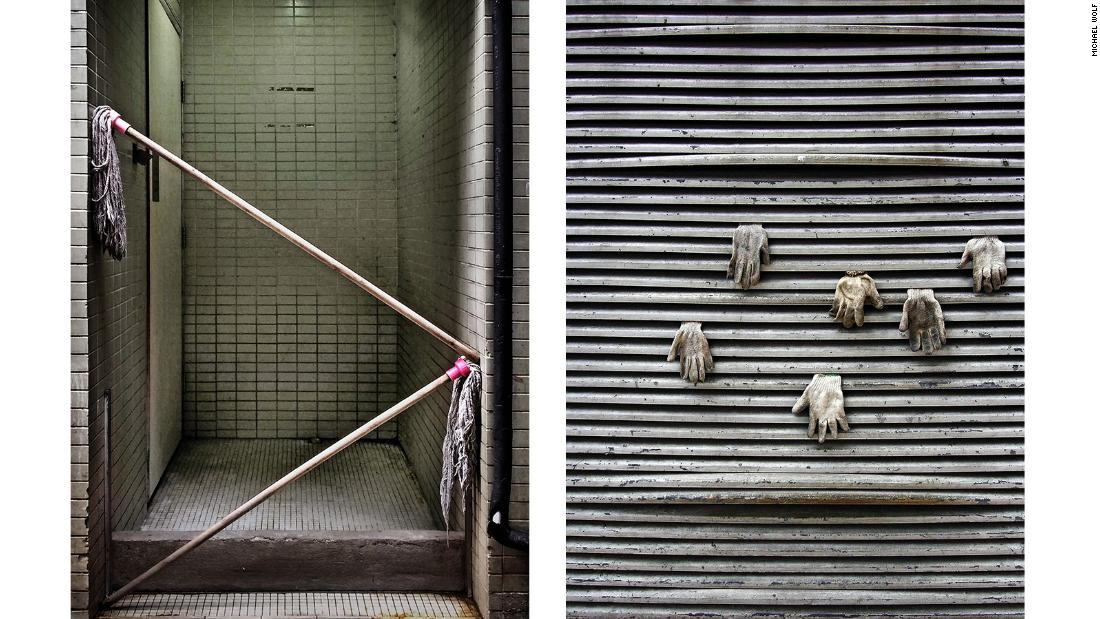 The series shows the creative ingenuity of some Hong Kong inhabitants as they seek new solutions in their surroundings.