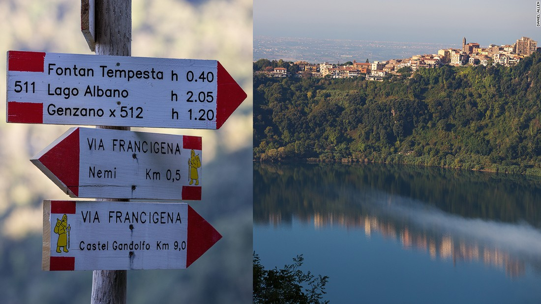 5 scenic hiking routes out of Rome   CNN Travel