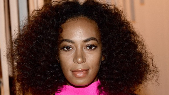 Solange Knowles at the Milly By Michelle Smith Fashion Show during Spring 2016 New York Fashion Week at Art Beam