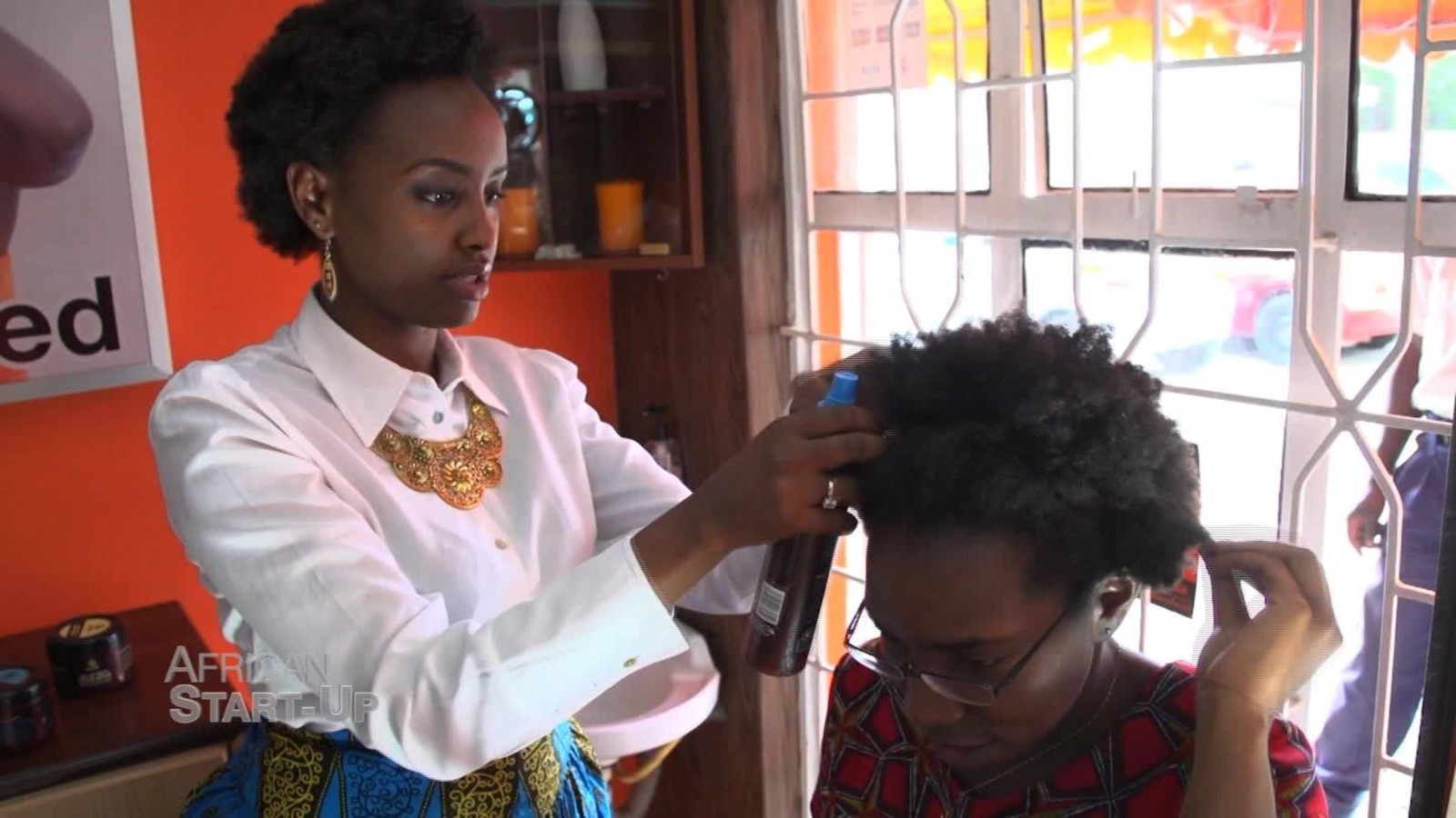 Turning Heads Kenya S First Start Up For Natural Hair Cnn