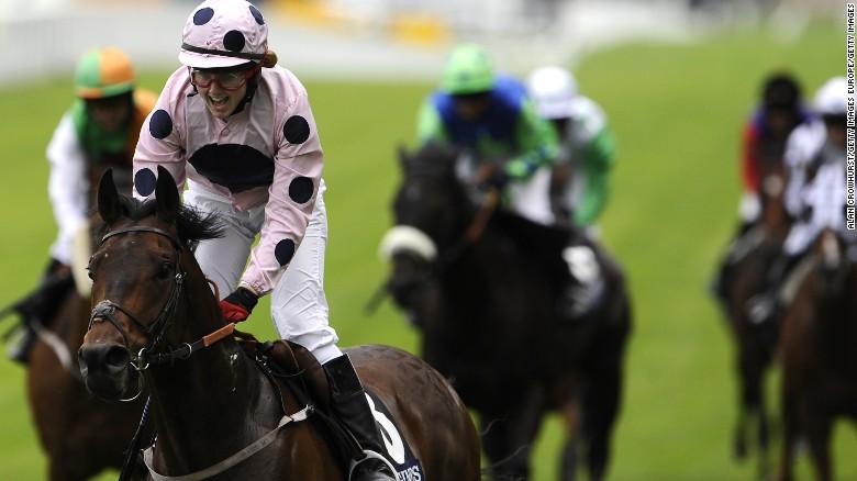 Amateur Jockey Hayley Moore Has Experienced Big Wins In The Past Including Longines Handicap