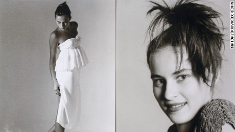 Jerko's early photos of Melania show the fresh-faced teenager as she was starting out on her modeling career.