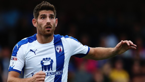 In June 2016, Evans signed a one-year deal with League One club Chesterfield. The 27-year-old had scored four goals by the time his retrial was concluded on October 14.
