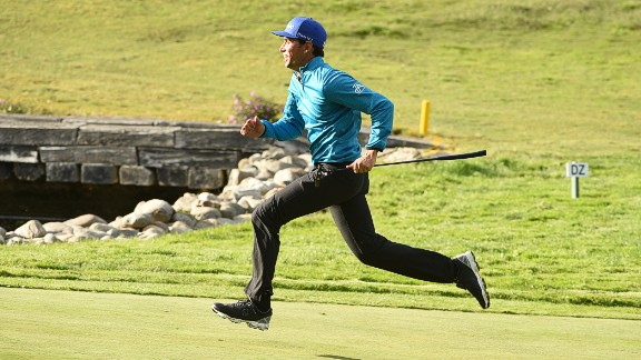"""Ever thought a round of golf takes just a bit too long? <a href=""""http://edition.cnn.com/2016/10/17/golf/speedgolf-world-championships-preview/index.html"""">Speed golf,</a> played since the early 1970s, is one of the many different variations of the game that have become popular worldwide."""