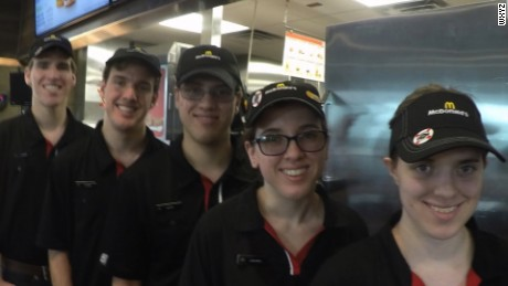 If you are eating at a McDoanld's in Potterville, Michigan - chances are you'll be served by one of the Curtis quintuplets
