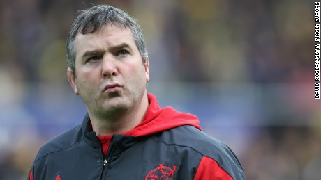 Munster coach and former Irish rugby international Anthony Foley has died, aged 42.