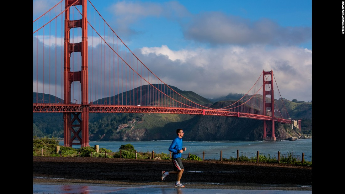 San Francisco came in at No. 2 in the study, which looked at factors like walkability, bike-ability, quality of public transit and availability of well-maintained parks.