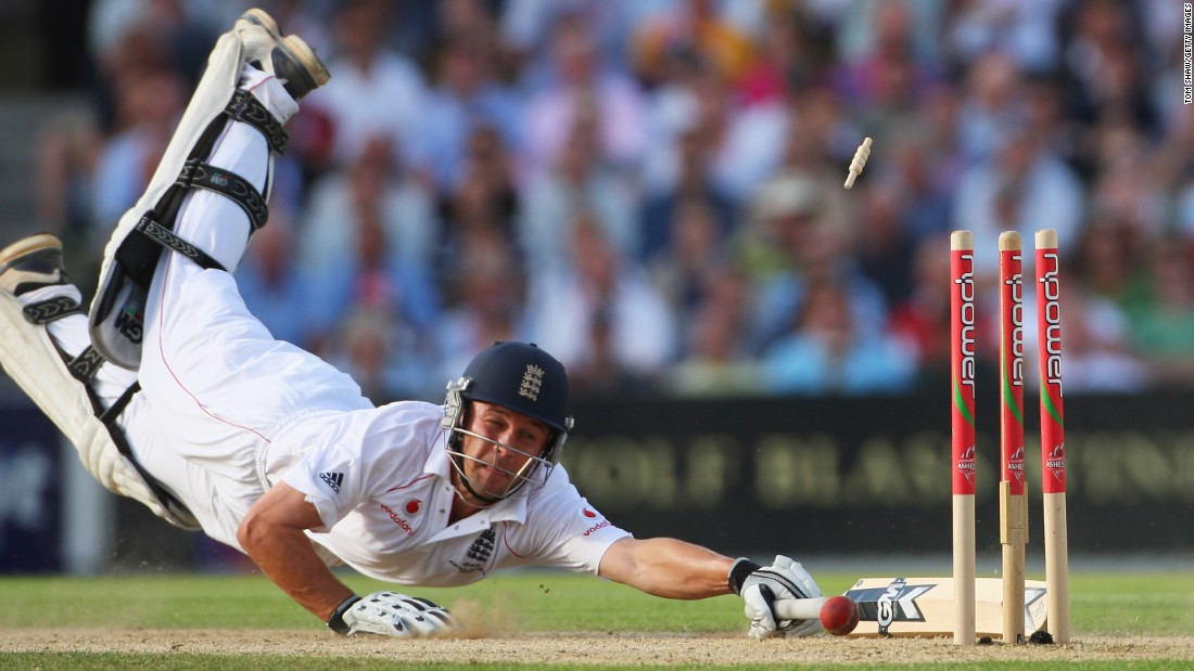 Even though England won the Ashes in 2013 -- the team and Trott's third success in a row -- the South African-born batsman was struggling. His average score against Australia had been 90 and he says he put too much pressure on himself to deliver.