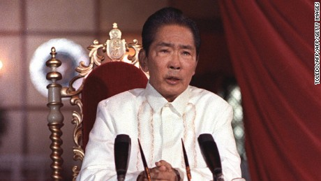 Former Philippines dictator Ferdinand Marcos buried in Heroes' cemetery