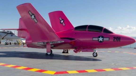 The pink paint job isn