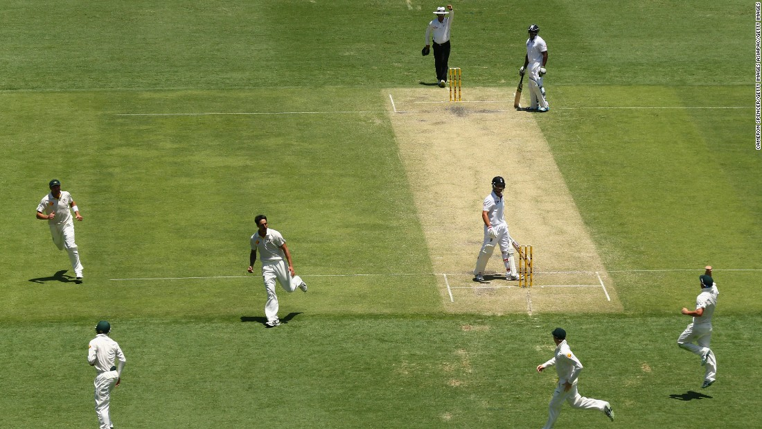 "Ashes series are always played at a high intensity with ""sledging"" -- verbal intimidation of the opposition -- prevalent. Australia were unaware of Trott's struggles but he said in that opening match they ""circled like hyenas round a dying zebra."" He was dismissed cheaply twice by fast bowler Mitchell Johnson and flew home for treatment once the game was over."