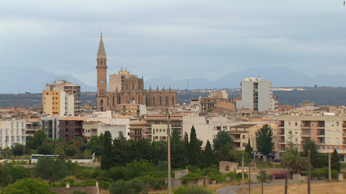 Manacor, the second-largest town on the Spanish island with a population of around 40,000, is a thriving industrial center.