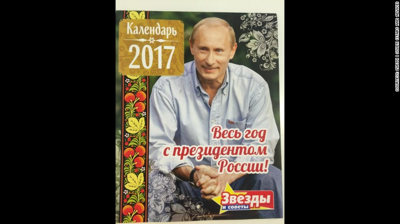 The 2017 Vladimir Putin Calendar Is Now On Sale Featuring Photographs And Several Quotes From