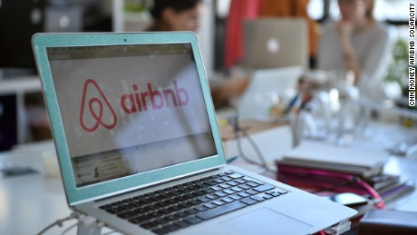 cnn money airbnb solarcity