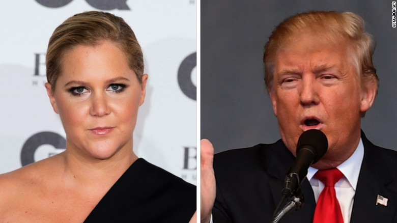Amy Schumer booed by Donald Trump supporters