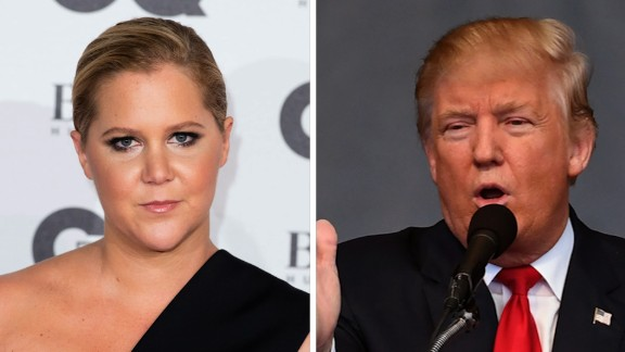 Habla español? Amy Schumer might have to learn it if she moves to Spain due to a Trump victory.